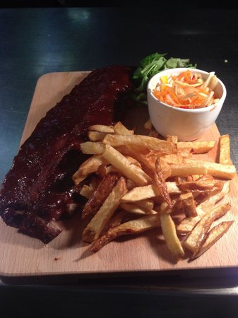 The GRILL: Rack of ribs?