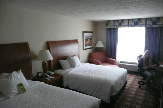 Hilton Garden Inn Freeport Downtown: Zimmer mit 2 Queens Size Betten