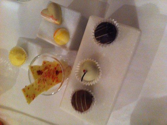 Restaurant Kuppelrain: varietá di cioccolati