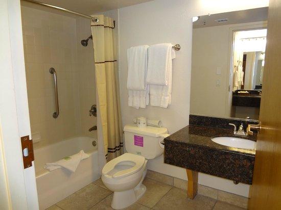 Canyon Plaza Resort: bagno