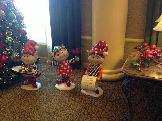 French Lick Springs Hotel: Holiday Elves