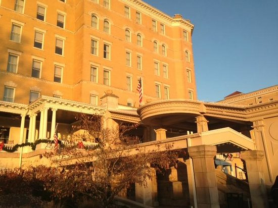 French Lick Springs Hotel: Front of the resort
