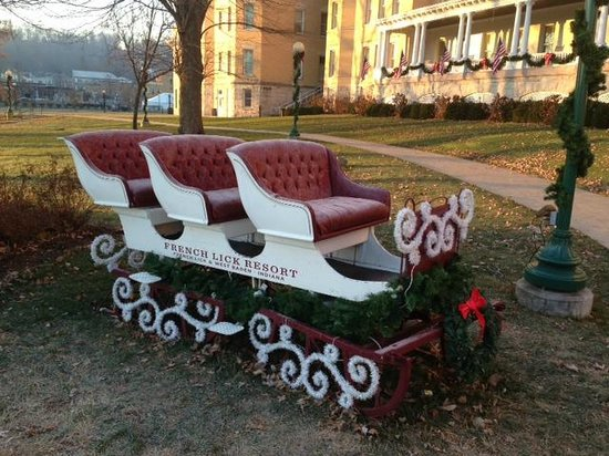 French Lick Springs Hotel: Take  ride?