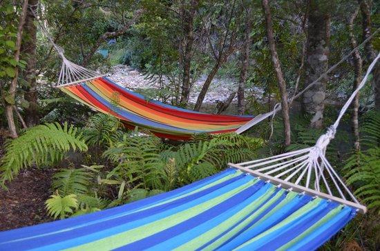 Wairua Lodge - The Hidden River Valley: Hammocks