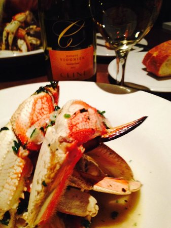 Capurro's Restaurant and Bar : Dungeness Crab Delight