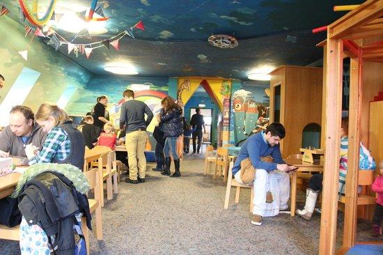 Nürnberger Spielzeugmuseum: attic playroom
