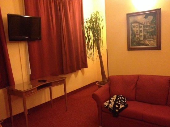 Cloister Inn Hotel: Sofa