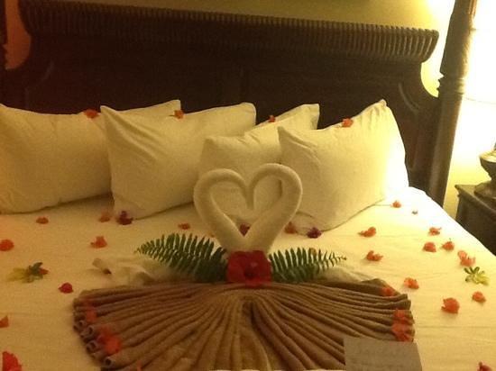 Sandals Ochi Beach Resort: bed time