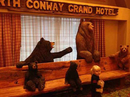 North Conway Grand Hotel: Entertaining reception!