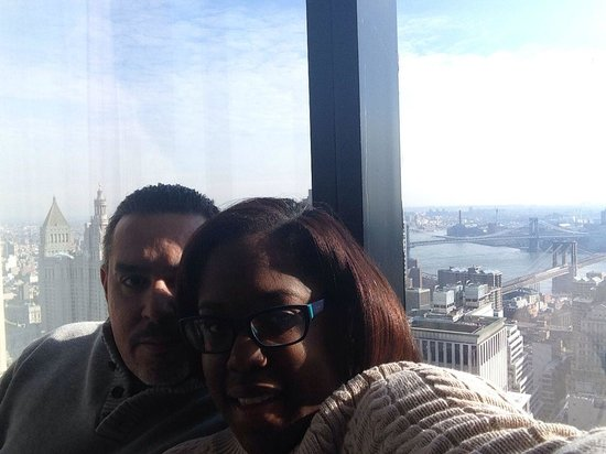 Millenium Hilton: Us and the East River