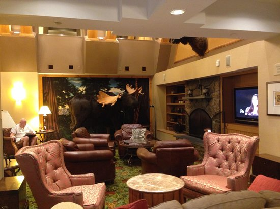 North Conway Grand Hotel: Cosy lounge area