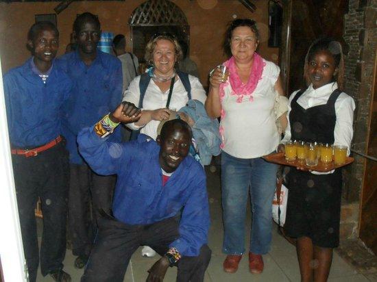 Safari Kenya Tanzania : çadır otel masaide