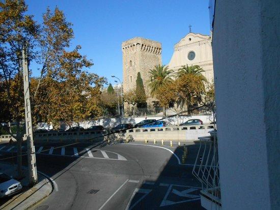 Fonda Montserrat: Vista desde la habitación