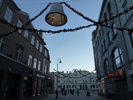 Clarion Collection Hotel Folketeateret : Une autre rue piétonne