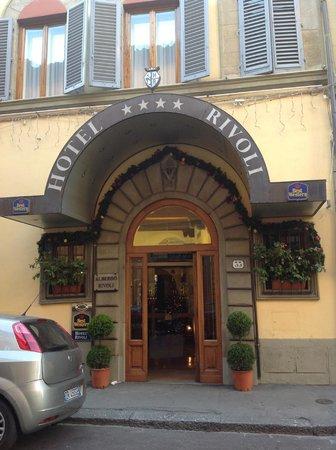 Rivoli Boutique Hotel: frente do hotel