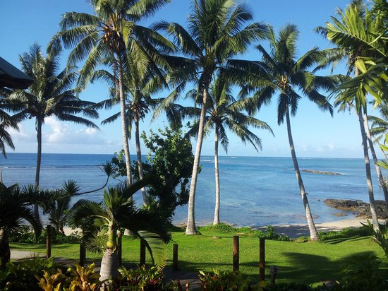 Sinalei Reef Resort & Spa: The view from our ocean view suite