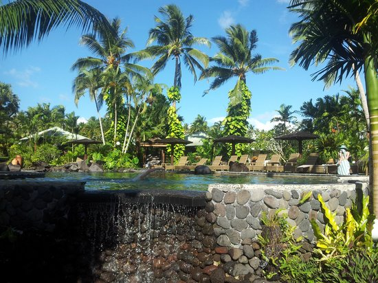 Sinalei Reef Resort & Spa: Most of our time was spent here...