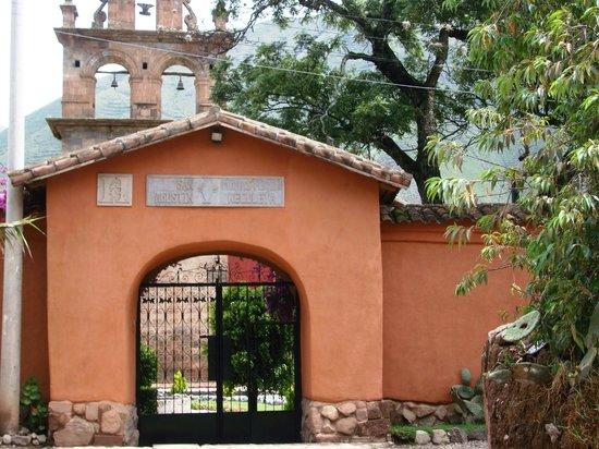 San Agustin Monasterio de la Recoleta Hotel: entrance