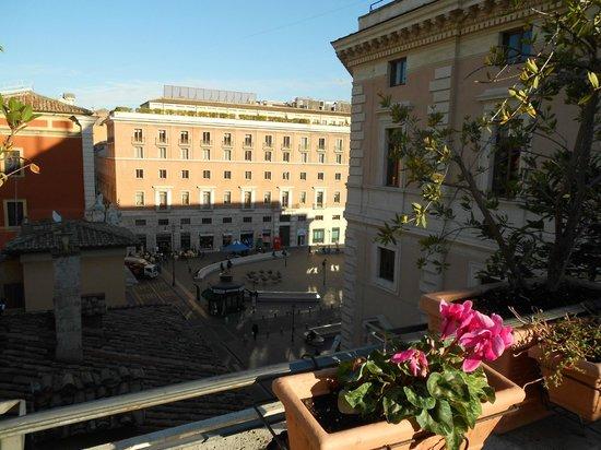 Hotel Parlamento: vista terrazza