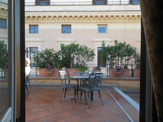 Hotel Parlamento: vista dalla camera