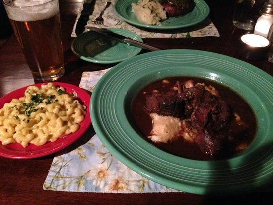 Sweetwater Restaurant: Elk osso buco and chilli mac and cheese  A++++