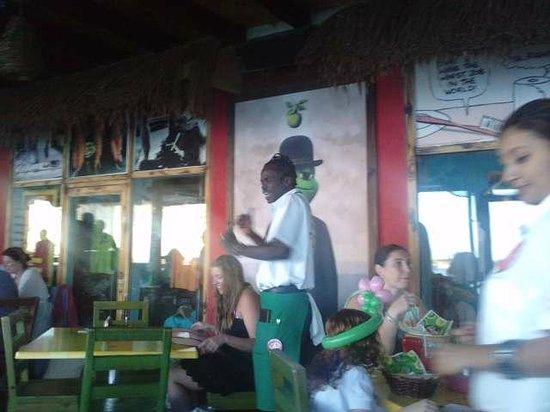 British Colonial Hilton Nassau: Señor Frog: lugar recomendado contiguo al hotel