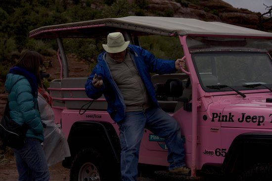 Pink Jeep Tours Sedona: Our guide, he did a great job.