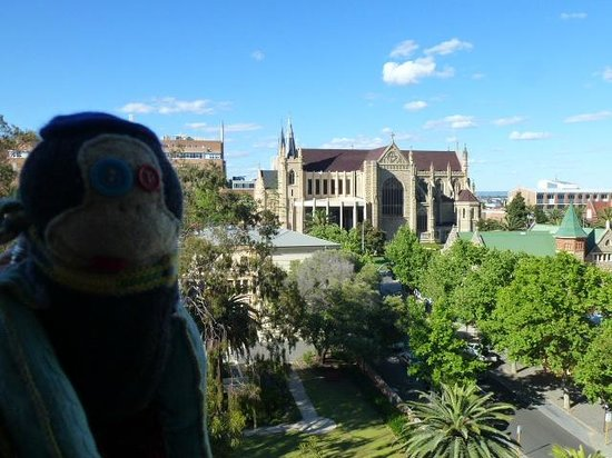 Travelodge Hotel Perth : View from my room