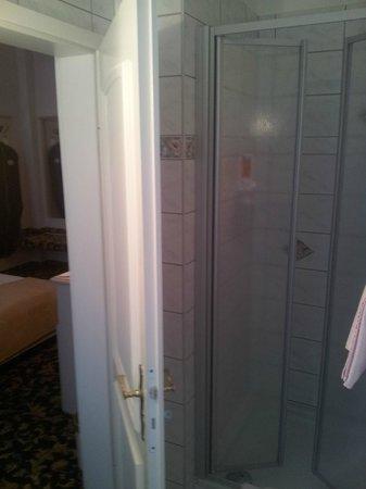 Hotel Villa Antonia: Dusche im Bad