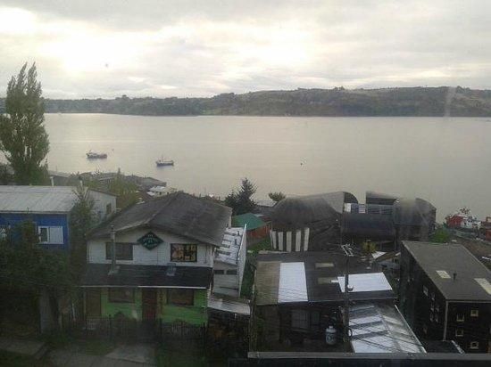 Hotel y Cabanas Terrazas Del Lago: Vista desde la habitación
