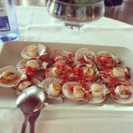 Restaurante Mar de Ardora: Buenísimas!!!!