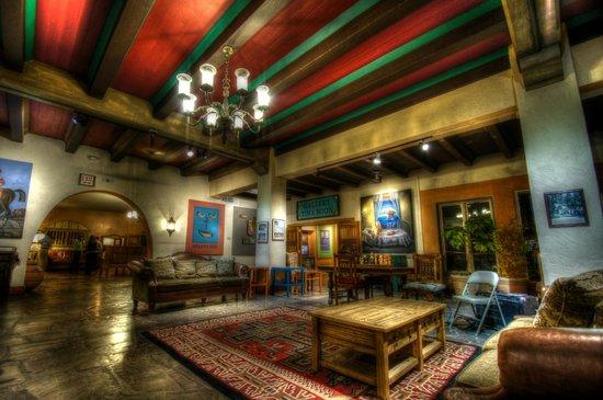 La Posada Hotel: Sitting room