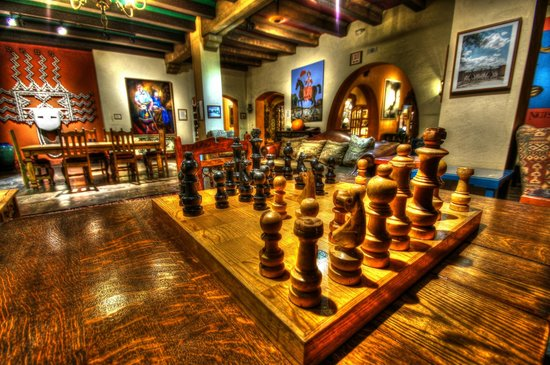 La Posada Hotel: Chess anyone