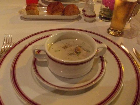 Dusit Island Resort Chiang Rai: Mushroom soup