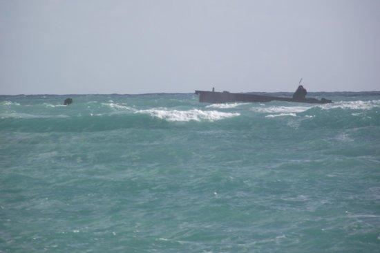 VIK Hotel Arena Blanca: The wreck in Punta Cana