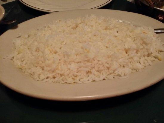 Situl Indian Restaurant: Basmati rice
