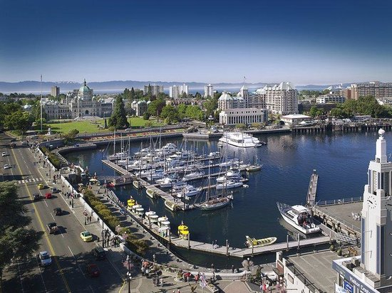 Hotel Grand Pacific: Location In Victoria's Inner Harbour