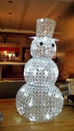 Meet Sammy the Snowman at Sapori del Mondo in december!