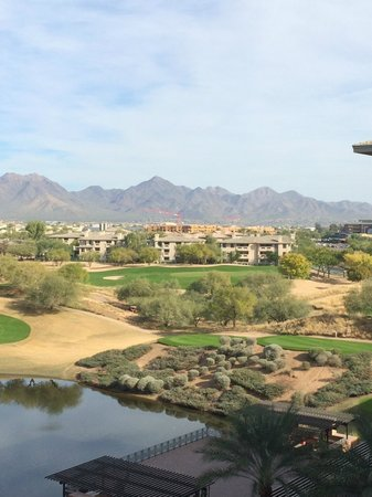 The Westin Kierland Villas: mountain and golf course views from room