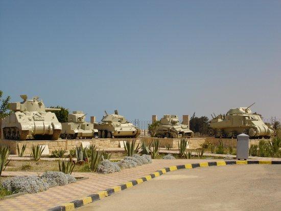 El Alamein War Museum: Tanks