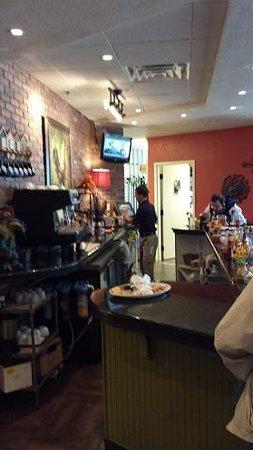 Another Broken Egg Cafe: Breakfast bar Area