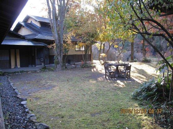 Yamashinobu: 早朝の中庭
