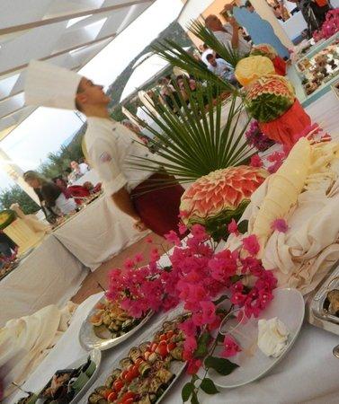 Hotel Pedraladda: cena di ferragosto sul terrazzo