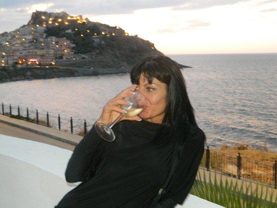 Hotel Pedraladda: vista dal bar dell'albergo