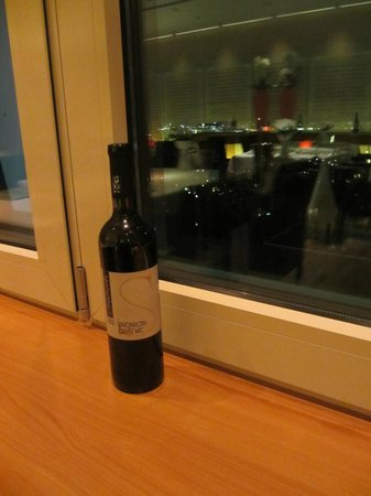 Hugos Restaurant: View from the table