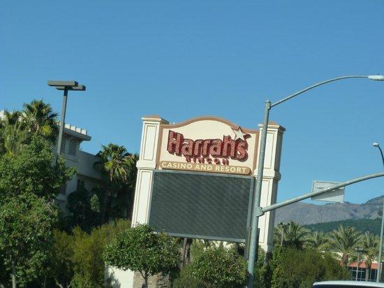 Harrah's Resort Southern California: Driving up to Harrah's
