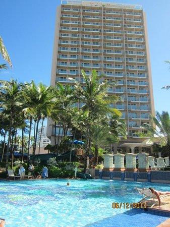 San Juan Marriott Resort & Stellaris Casino: the side
