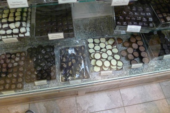 Len Libby Chocolates: look at this goodness