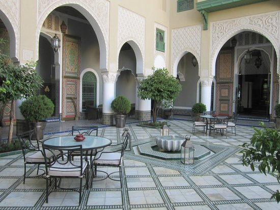 "Palais Faraj Suites & Spa: ""Courtyard"" -"