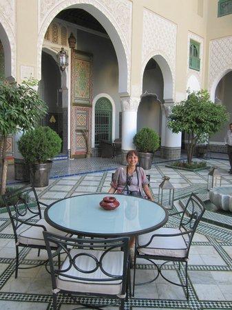 "Palais Faraj Suites & Spa: Outro ângulo da ""courtyard"""